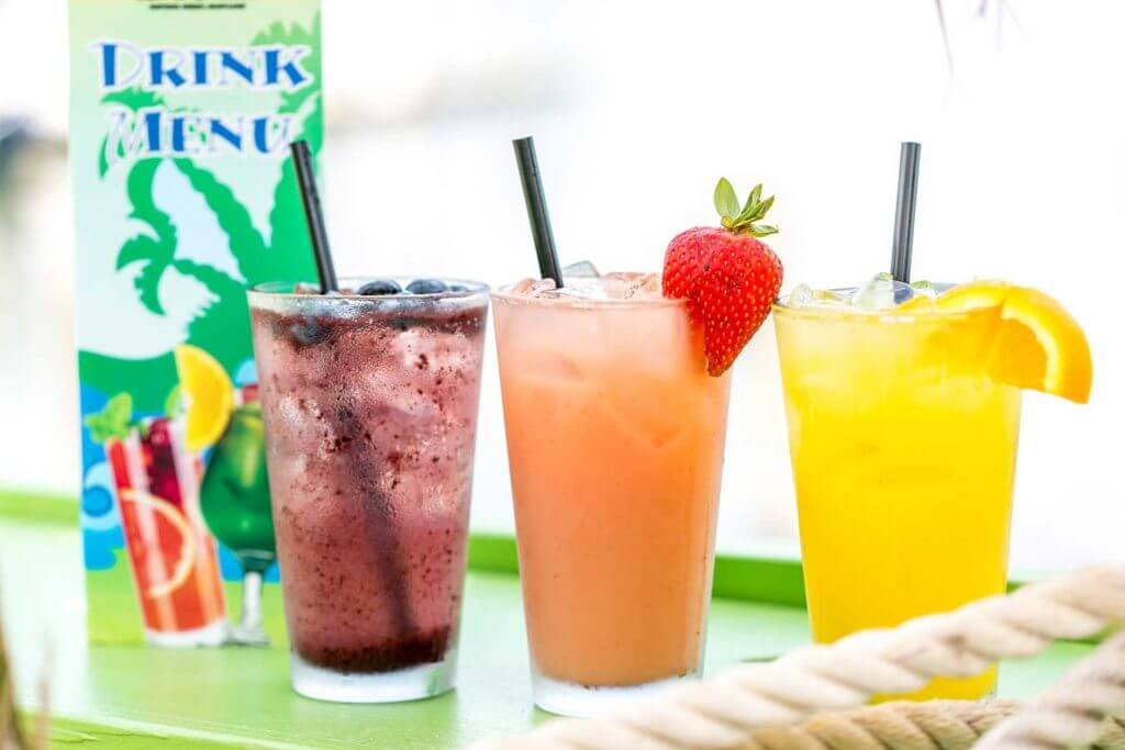 Blueberry, Hopkins & Tropical Crushes