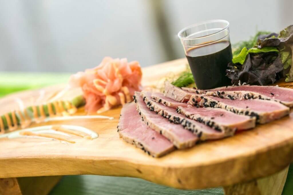 Sesamee Encrusted Seared Tuna